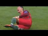 Кристиано Рональдо  (Cristiano Ronaldo)  момент получения травмы  + мотылёк :(  ● Cristiano Ronaldo  EURO final 2016 Emotional