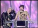 Bjork wins International Female presented by Alexander McQueen Honor Fraser | BRIT Awards 1998