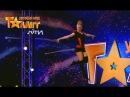 Девушка на канате летает по сцене Мария Шевченко Україна має талант Пятый кастинг в Киеве