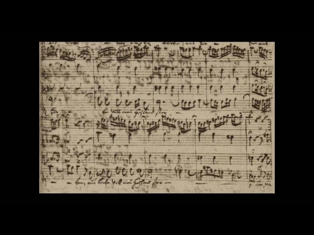 Bach Manuscript - Matthaeus Passion - 49