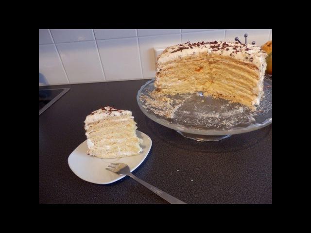 торт Молочная девочка/ Milchmädchen Torte