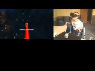 Oculus Rift DK2 Nova Asteroids