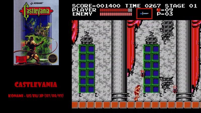 All NES Games⁄Все Игры на Денди - 13. Явление Castlevania народу