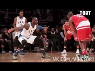 LeBron and Kobe!