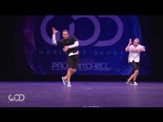 Emilio Dosal and Phillip Chbeeb | FRONTROW | World of Dance Hawaii 2016 | #WODHI16