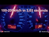 Brutal VW Golf MK2 (!!! 1233HP and 1094Nm !!!) Acceleration from 100-200kmh in 3,0s