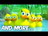 Five Little Ducks - THE BEST Nursery Rhymes and Songs for Children   LooLoo Kids