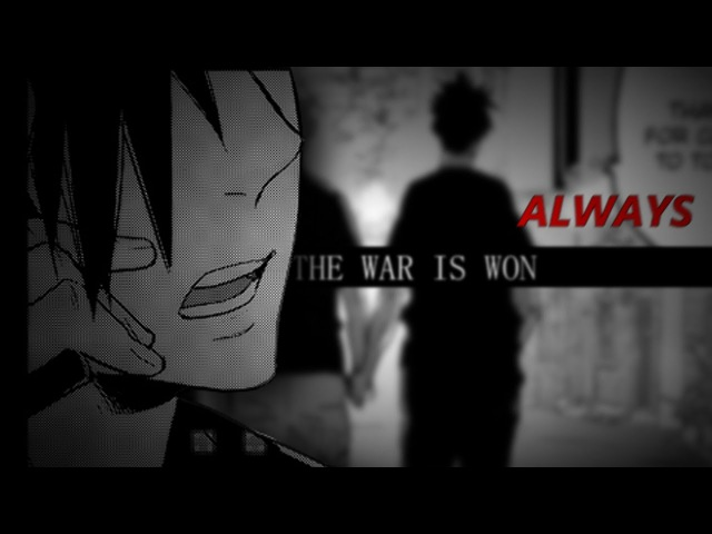 「HAIKYUU」❝The war is won, always❝ || KuroTsuki||