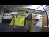 Roma Kletov - training in da Brooklyn Zoo New York (parkour, freerun)