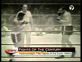 ESPN Fights of the century:Heavyweight Title Fights of the Early 1960's espn fights of the century:heavyweight title fights of t