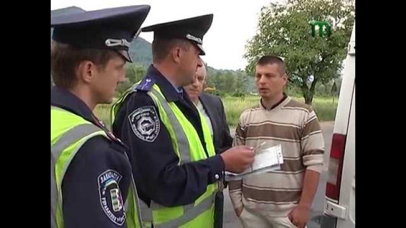 В Тячеві ловили нелегальних перевізників