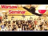 Taekwondo Kicking Seminar in Warsaw