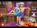 Elsa Sauna Flirting Realife (Эльза в Сауне) - Мультик для девочек и мальчиков