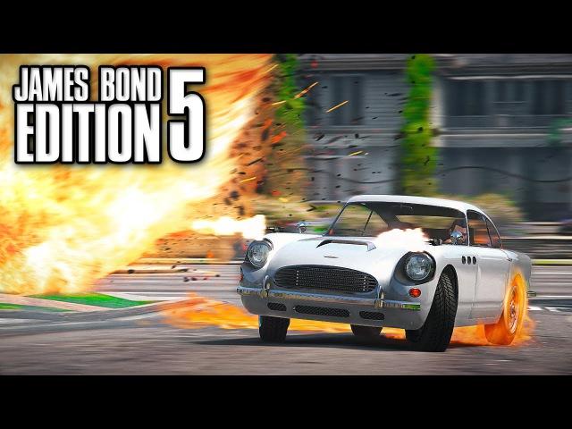 Grand Theft Auto 5 James Bond Edition 5 GTA 5 Short Film