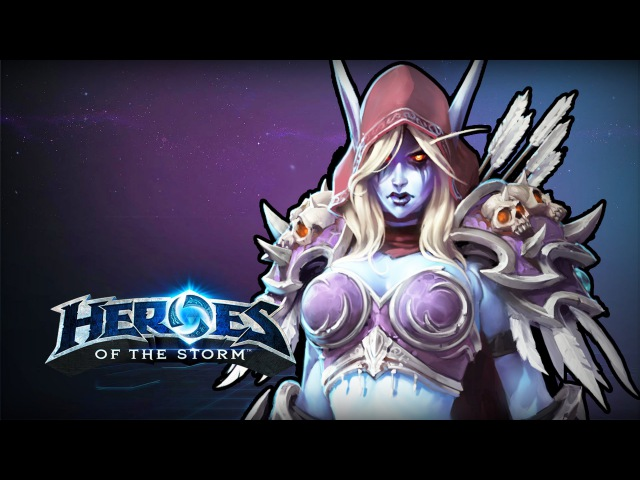 ♥ Heroes of the Storm (Gameplay) - Sylvanas Is Bae (HoTs Quick Match)