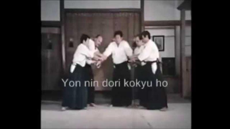 合気道 Aikido 二人取り futari dori Saito Morihiro