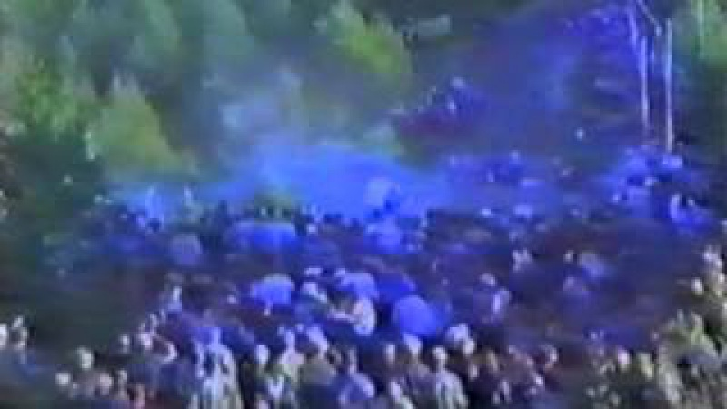 Huge crash in Humalamäki - 1000 Lakes Rally 1984