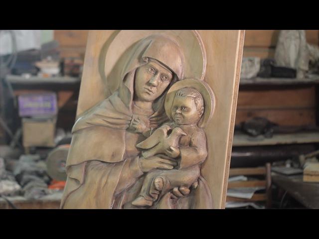 Сделано в Кузбассе HD Резчик по дереву