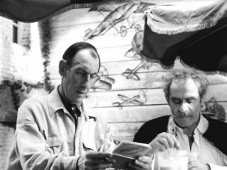 Ехали в трамвае Ильф и Петров. (1971).
