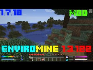 Minecraft[1.7.10] - Мод - EnviroMine 1.3.122 - Датчики состояния здоровья и окружающей среды