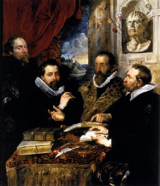 "Питер Пауль Рубенс ""Четыре философа"", 1612"