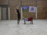 II Фестиваль Акро-йоги на Алтае. Эсмиральда Дэль Диос и Аркадий Тепер. Акро Бурлеск.