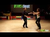 Chuck Brown &amp Marina Motronenko KIWI fest 2015