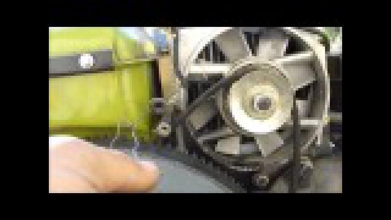 ЗУБР Q79E Как я снимал генератор не снимая топливного бака!