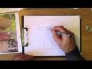 Как рисовать гриб. Часть 1. Урок 17
