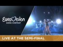 Iveta Mukuchyan LoveWave Armenia Live at Semi Final 1 at the 2016 Eurovision Song Contest