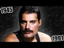 The Transformation of FREDDIE MERCURY (35 Songs Year by Year)