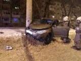 ДТП на улице Голосова в ночь на рождество
