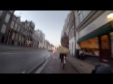Gopro test: Driving trough Amsterdam on recumbent bicycle.