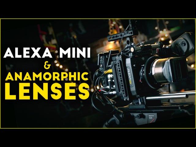 Alexa Mini Lomo Anamorphic lenses
