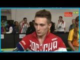 Интервью Давида Белявского после выступления.