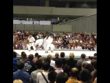 JKF Japan National Kata Teams bunkai demonstration.. Абсолютка. Токио. Чемпионат Мира 2015 Кёкусинкай