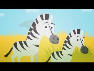 Животные для самых маленьких, сборник мультиков все серии, домашние и дикие животные для детей