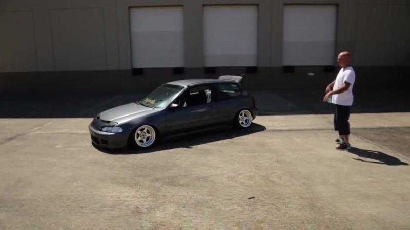 Jay Burkhardt Stanced Honda EG - NEW SETUP