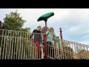 Liv Shumbres - YouTube Funniflix - Playground Challenge! (Liv vs Karson) 12.01.2016 г.