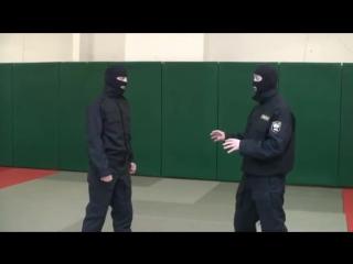 ОМОН. Видео рубрика по самообороне и боевому самбо. Урок 5.