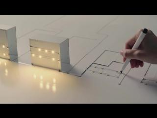 Новые японские технологии: электропроводящие чернила