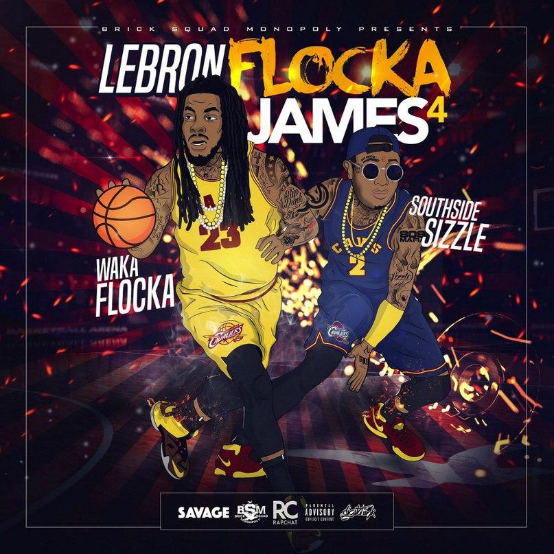 """Премьера нового альбома: Waka Flocka & Young Sizzle - """"Lebron Flocka James 4"""". Часть 2"""