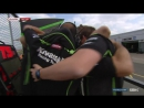 03 - WSBK RACE 1 Post-Race, Parc Ferme, Interviews, Podium - Donington Park