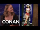 """Jodie Foster's Fond Memories Of """"Taxi Driver""""  - CONAN on TBS"""