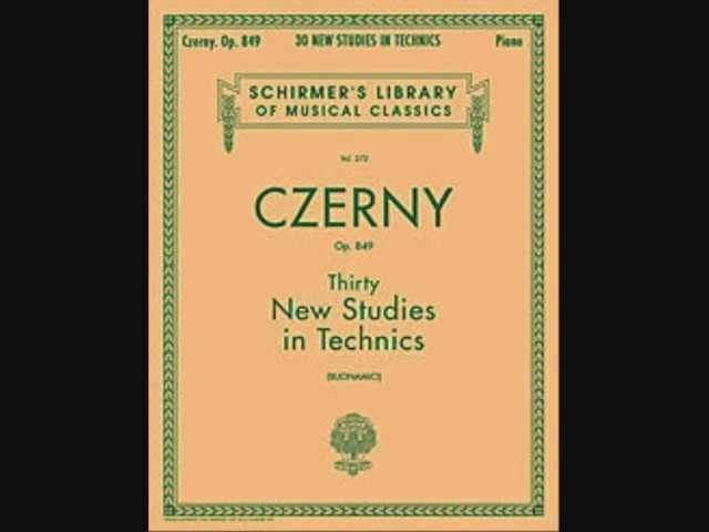 Carl Czerny - 30 Studi Op.849