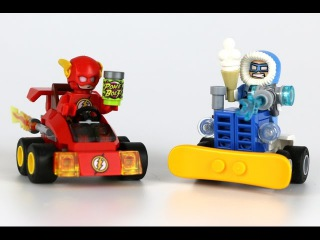LEGO Super Heroes Mighty Micros REVIEW: The Flash vs. Captain Cold (76063)