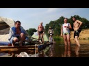 Сплав на плоту по реке Клязьма июль 2016