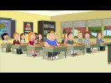 Family Guy: Naked Teacher Riding scooter