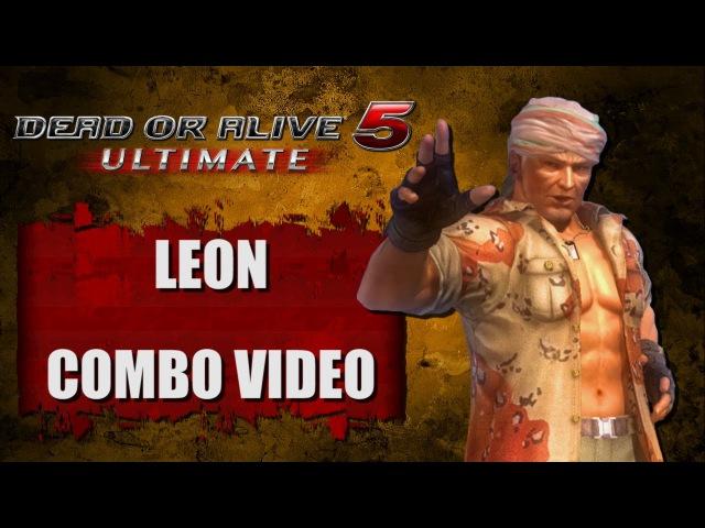 DOA5 ULTIMATE (Ver. 1.03) LEON - COMBO VIDEO
