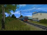Поездка в ЭР2Т-7175 (Trainz Simulator 2012)